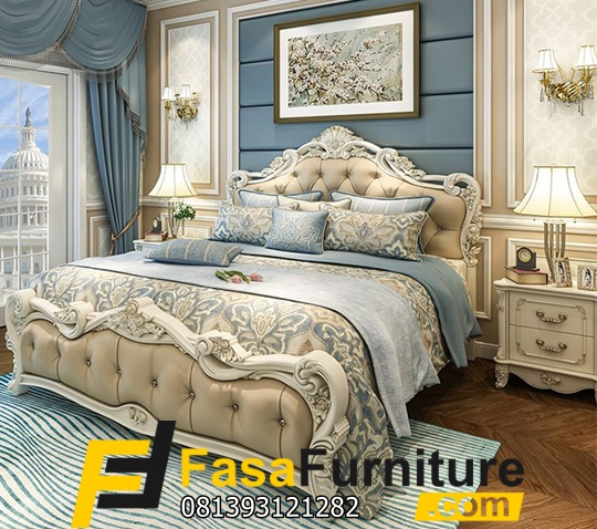 Furniture Kamar Tidur Klasik Ukir Jepara