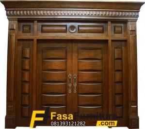 Model Pintu Rumah Minimalis Double Mewah