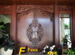 Pintu Rumah Jawa Double Model Ukiran