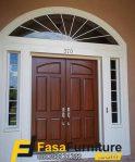 Pintu Rumah Minimalis Boven Lengkung