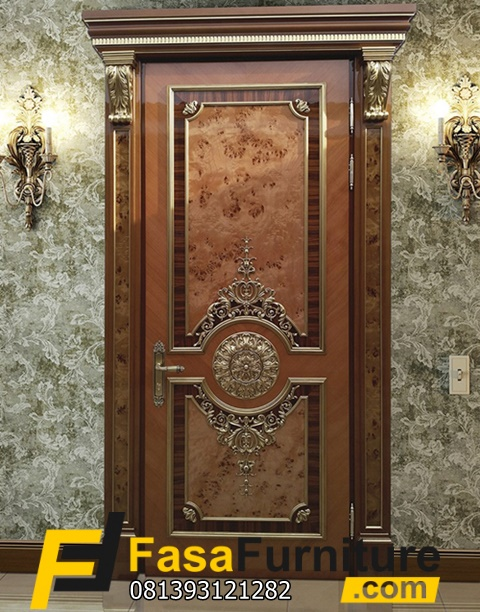 Set Pintu Kamar Klasik Eropa