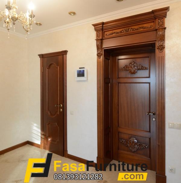 Pintu Kamar Tidur Artis Model Klasik Minimalis