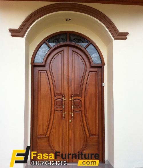Set Kusen Pintu Depan Minimalis Modern