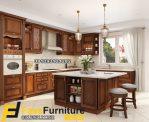 Contoh Kitchen Set Jati Ruang Dapur Minimalis
