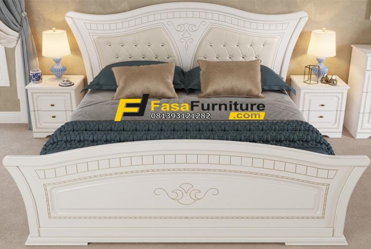 Model Tempat Tidur Minimalis Duco White