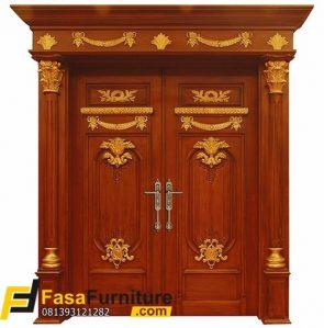 Model Pintu Rumah Mewah Klasik Eropa