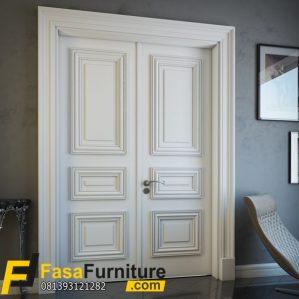 Pintu Rumah Minimalis Double Profilan