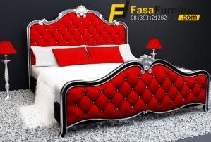 Tempat Tidur Minimalis Mewah Sandaran Sofa