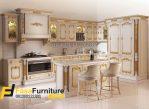Kitchen Set Klasik Ukiran Gold Mewah